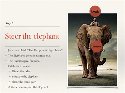 How to Confront an Elephant