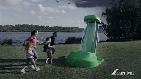 Magic Waterslide Rescues Holidaymakers In New Carnival