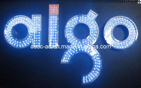 China LED Signs/Advertising Sign/LED Exposed Luminous Word