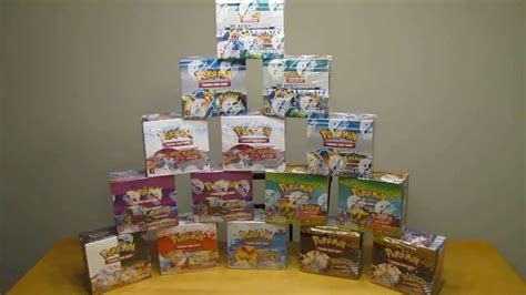 15 Pokemon Booster Box Opening (540 Booster Packs) - YouTube
