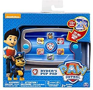 Spin Master Paw Patrol Ryders Pup Pad 3+: Amazon