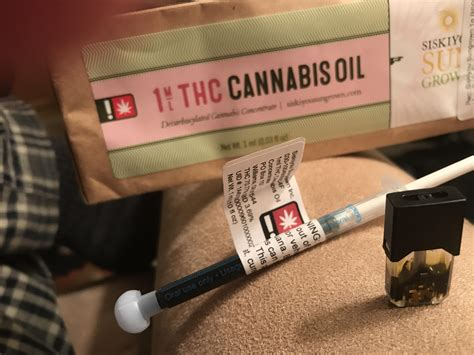 Finally hacked my juul for cannabis oil - rips better than