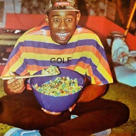 Tyler, the Creator eating cereal (With images) | Tyler the