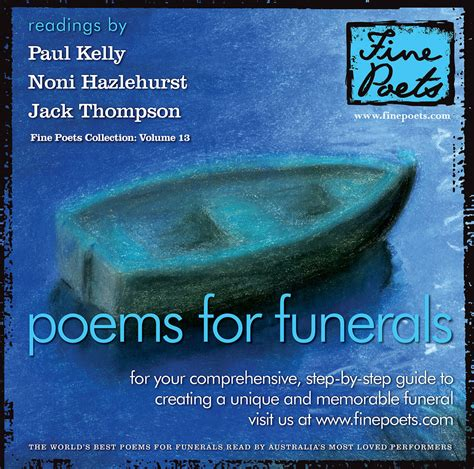 Poems For Funerals | Jack Thompson