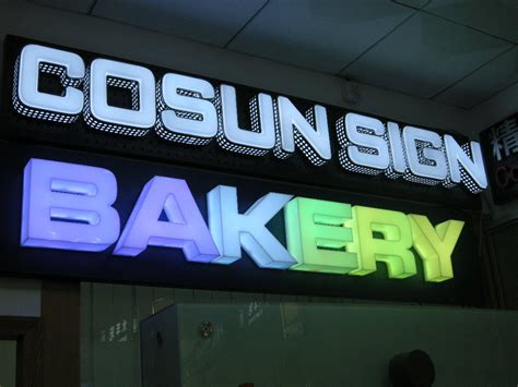 China Acrylic Full Color LED Channel Letter / LED Sign