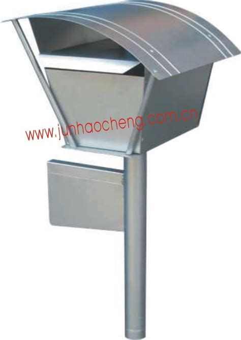 China Modern Regular Size Stainless Steel Mailboxes Post