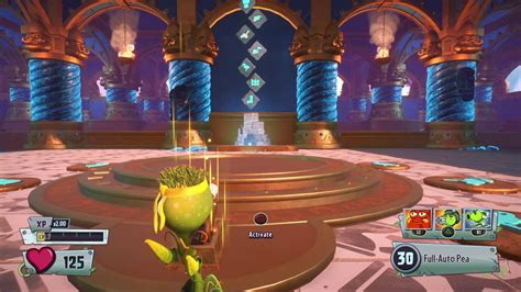 Plants vs Zombies GW2 unlocking the first puzzle - YouTube