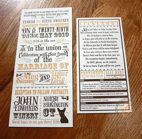 Paisley Quill: Winery Wedding Invitations with Ticket Response