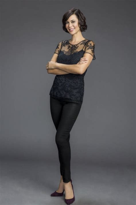 Catherine Bell At The Good Witch 2015 TV Series Promoshoot