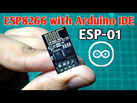 Breadboard and Program an ESP-01 Circuit with the Arduino