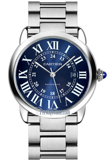 wsrn0023 Cartier Ronde Solo Automatic 42mm Mens Watch