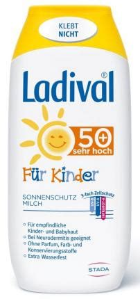 LADIVAL Kinder Sonnenmilch LSF 50+ 200 ml   medicaria