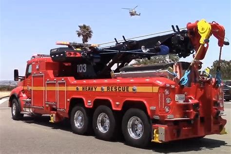 Los Angeles County Heavy Rescue - Firefighter Nation