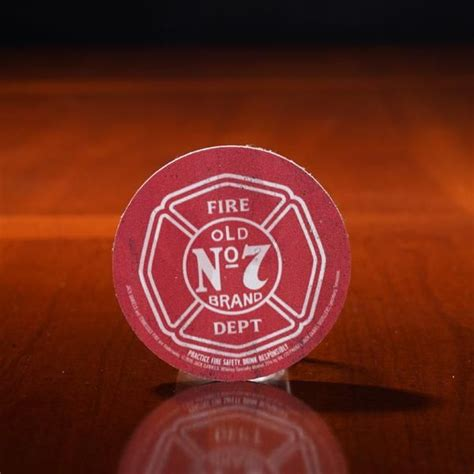 Jack Daniel's Tennessee Fire Round Coaster | Tennessee