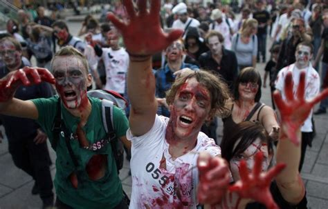 'Zombie Apocalypse' Warning From Government: 'The Zombies
