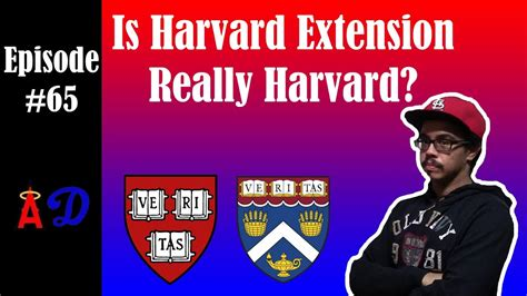 Episode 65: Is Harvard Extension Really Harvard? - YouTube