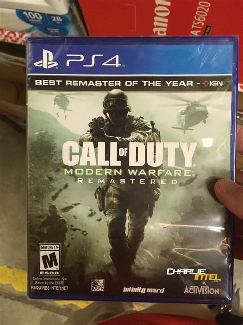 Report: Call Of Duty: Modern Warfare Remastered Gets