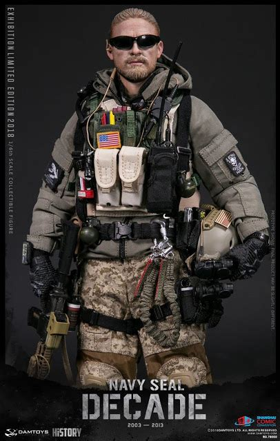 toyhaven: Dam Toys 1/6th scale A Decade of Navy Seal 2003
