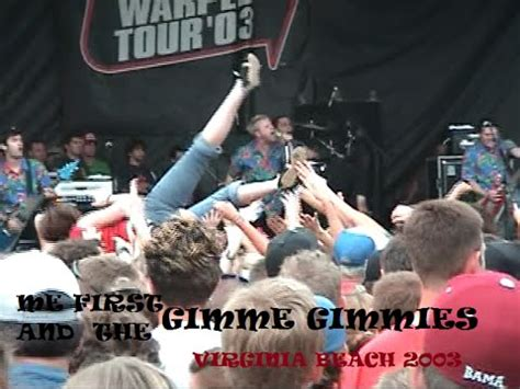 Me First and the Gimme Gimmes at the 2003 Vans Warped Tour