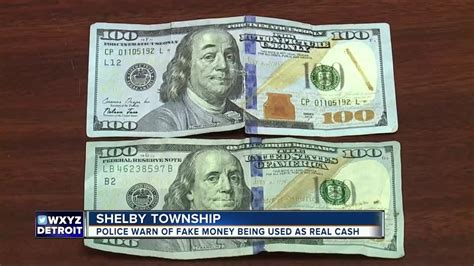Police warn of fake money being used as real cash - YouTube