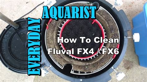 Fluval FX4 & FX6 Filter: Cleaning and Maintenance - YouTube