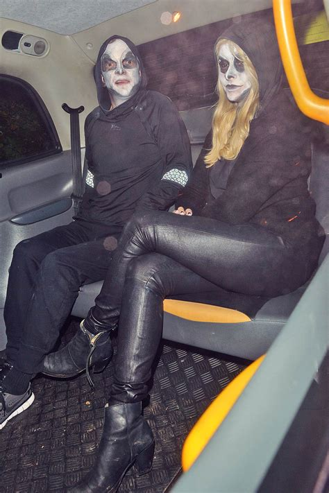 Holly Willoughby attends Jonathan Ross annual Halloween