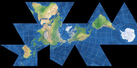 Dymaxion Map: Compare Map Projections