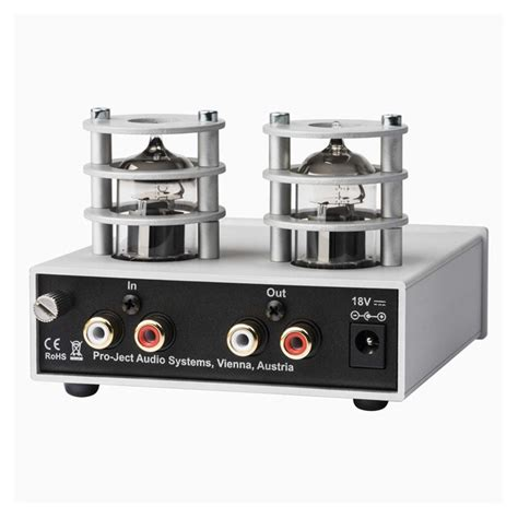 Pro-Ject Tube Box S2 MM / MC Valve Phono Stage from