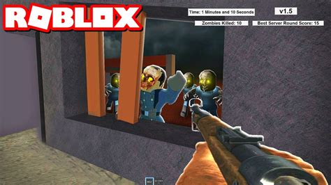 CALL OF DUTY ZOMBIES IN ROBLOX - YouTube